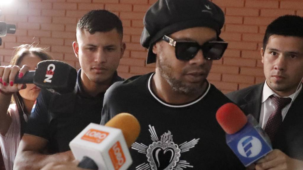 Hausarrest statt Gefängnis für Ronaldinho