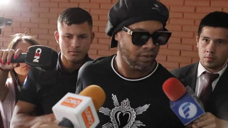 Ronaldinho durfte das Gefängnis verlassen
