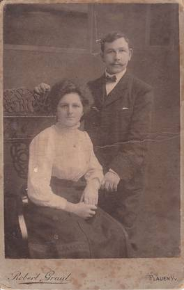 Franziska Bucher und ihr Mann, nach dessen Tod ihr die sieben gemeinsamen Kinder entrissen wurden