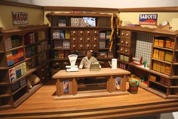 Maggi-Fleischbrühwürfel und Sarotti-Schokolade sind die Aushängeschilder des Verkaufsladens, der viele Schweizer Markenprodukte anbietet