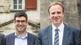 SP-Grossrat Marco Hardmeier (r.) mit seinem Partner, SP-Nationalrat Angelo Barrile.
