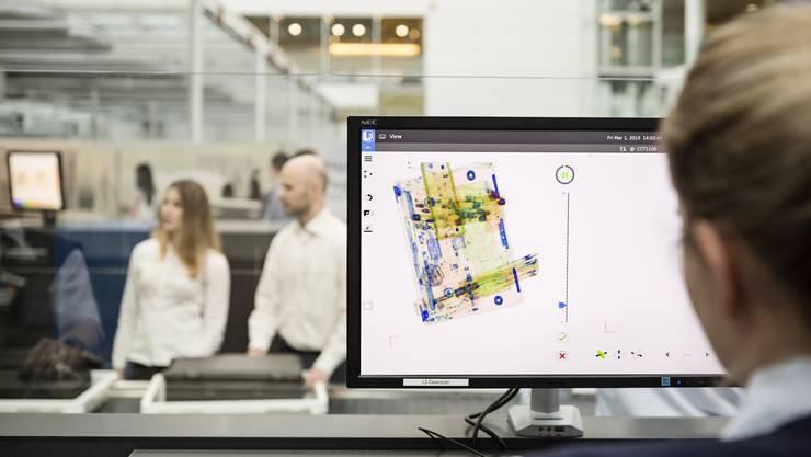 Der Flughafen München testet neue Kontrolltechnologien.