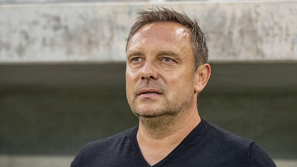 Cheftrainer André Breitenreiter hat den FC Zürich in den ersten Wochen dieser Saison vorangebracht.
