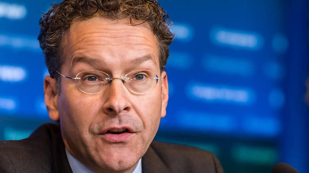 Euro-Gruppen-Chef Jeroen Dijesselbloem (Archiv) kündigt neue Milliardenhilfe für Griechenland an.