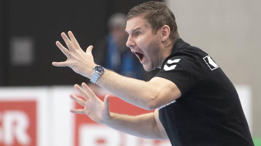 Petr Hrachovec musste mit seinen Kadetten eine knappe Niederlage einstecken