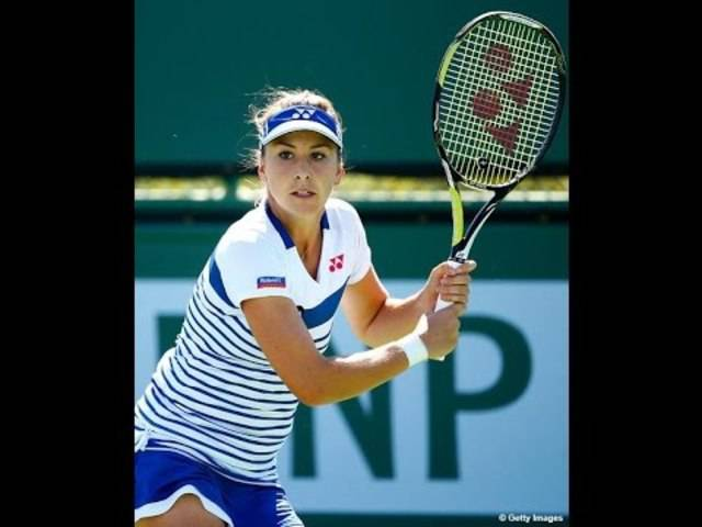 Belinda Bencic bezwingt Caroline Wozniacki – die Highlights.