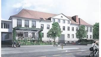 Die Umnutzungsarbeiten im alten Industriegebäude Kleider Frey haben begonnen; 15 Mio. werden investiert.