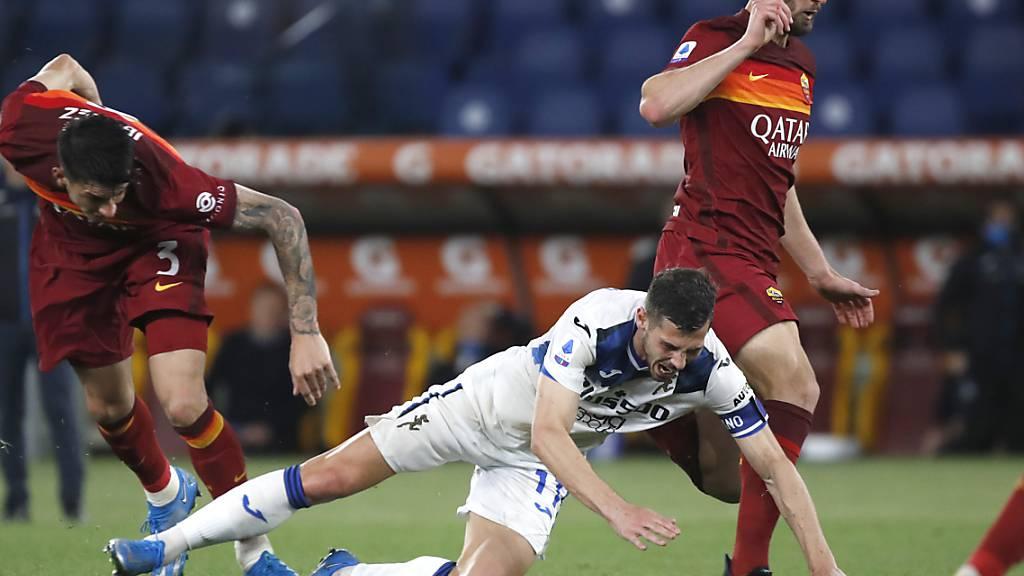 Remo Freuler führt Atalanta Bergamo bei der AS Roma als Captain aufs Feld und in dieser Funktion zu einem 1:1-Remis