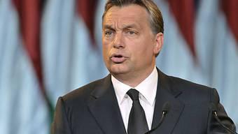 Der ungarische Ministerpräsident Viktor Orban (Archiv)