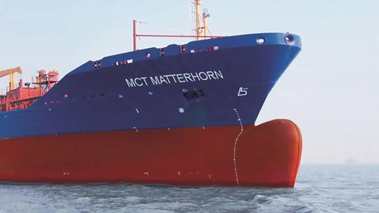 Wie lässt sich der Preisanstieg eines Teils der Schweizer Hochseeflotte erklären? – Im Bild: Die MCT «Matterhorn».ho