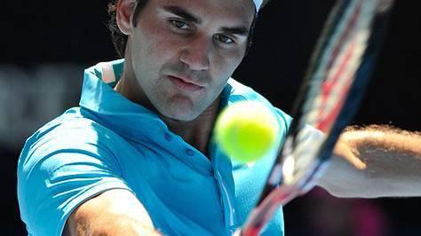 Roger Federer im Viertelfinal