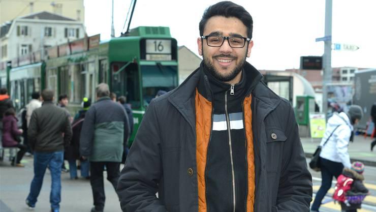 Mustafa Nasar ist im bernischen Niederbipp aufgewachsen und lebt seit drei Jahren in Basel. Nicole Nars-Zimmer