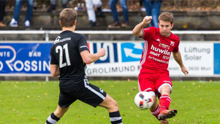 Michael Stadelmann will mit dem FC Muri den Platz in den Top 4 verteidigen.