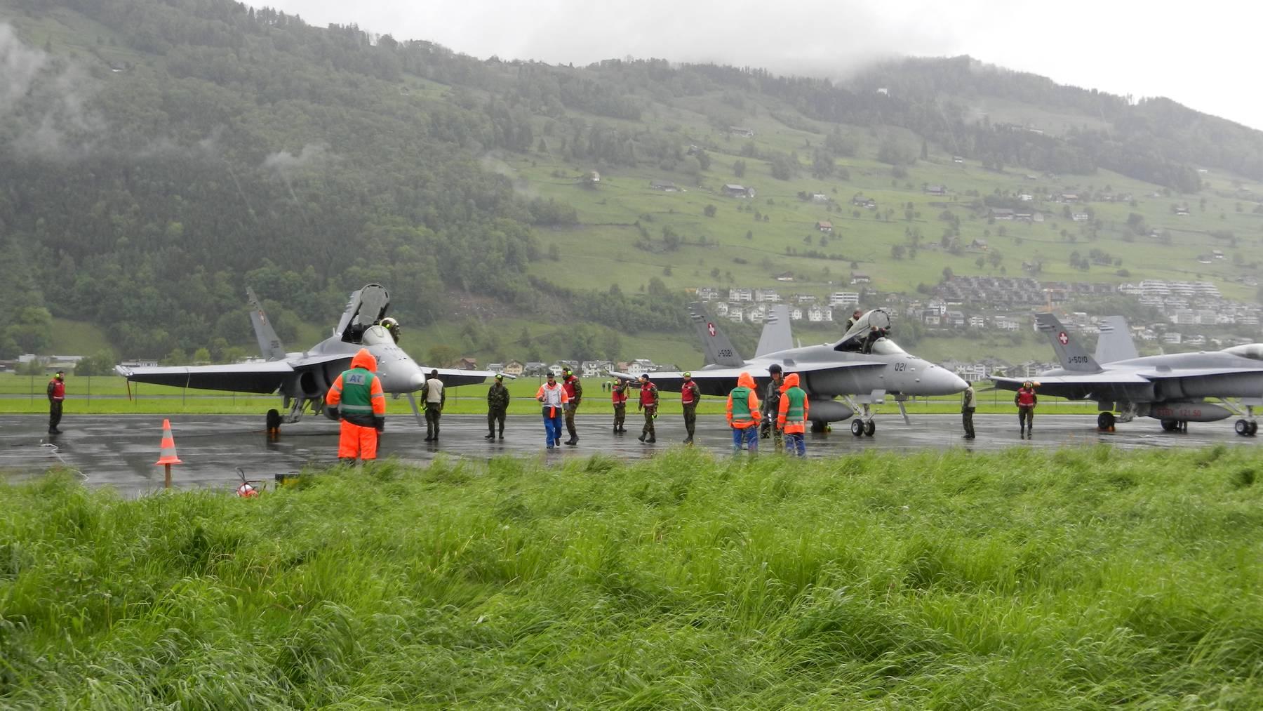 Parlament stellt sich hinter Flugplatz Buochs