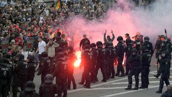 Kundgebung in Chemnitz