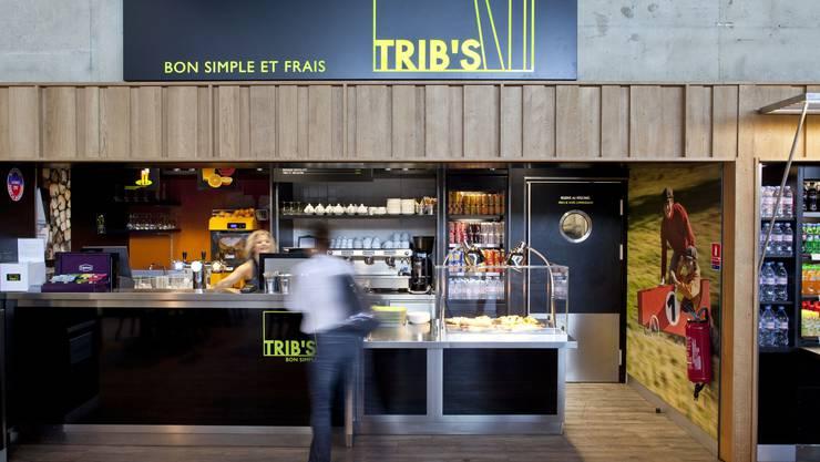 Bald auch in Basel-Mulhouse: Trib's-Restaurant auf dem Flughafen von Montpellier.
