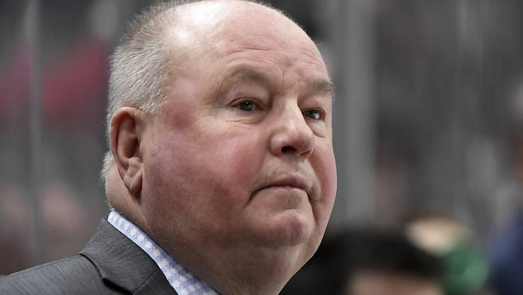 Bruce Boudreau wurde als Trainer von Minnesota Wild entlassen