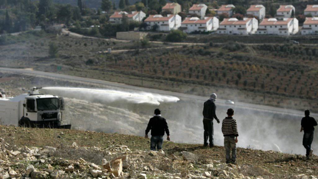 Die israelische Siedlung Neveh Tzuf im Westjordanland nördlich von Ramallah. (Archivbild)