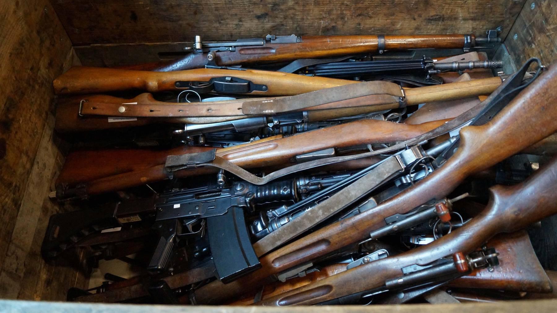 Karin Keller-Sutter: «Niemand wird entwaffnet»