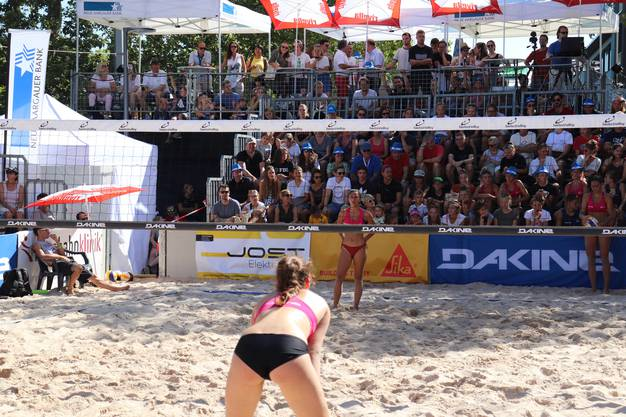 Beachvolley in Baden