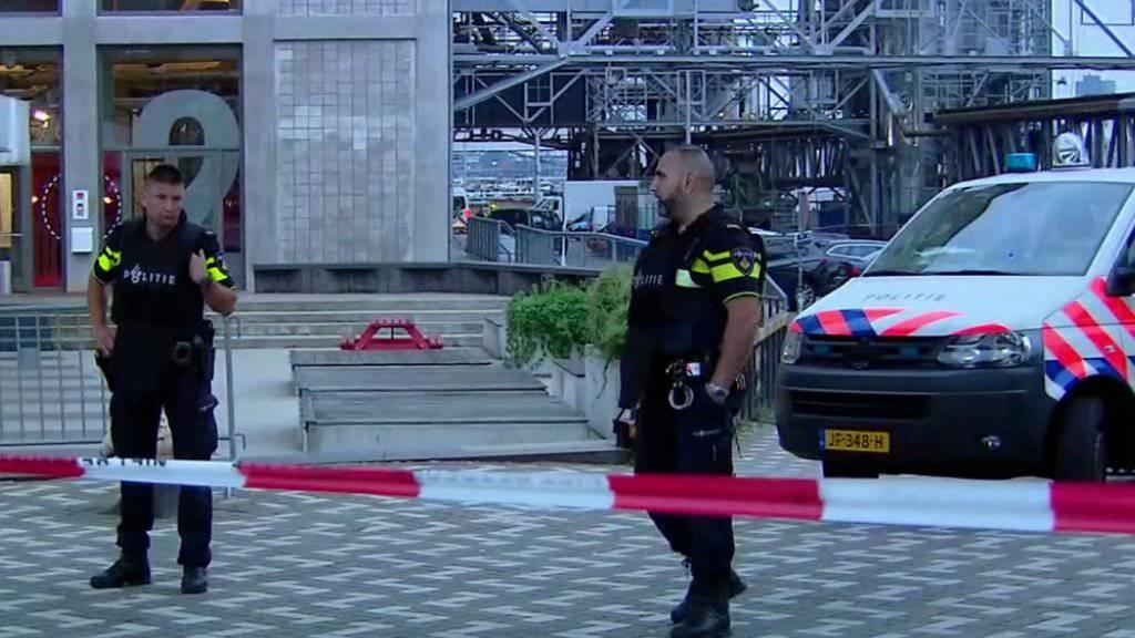 Rotterdams Polizei hatte «konkreten» Hinweis auf Anschlagsplan