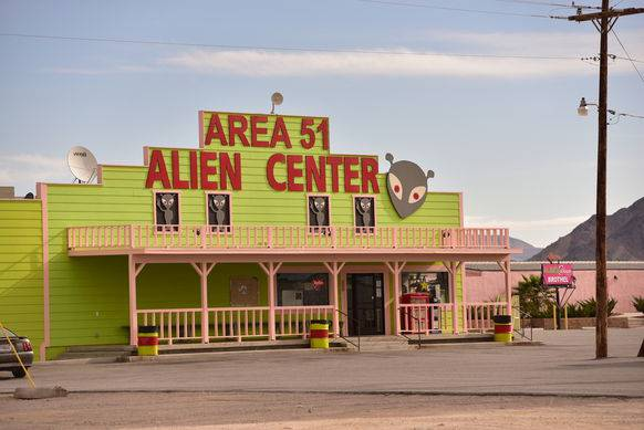 Restaurant «Area 51 Alien Center» in Amargosa Valley.
