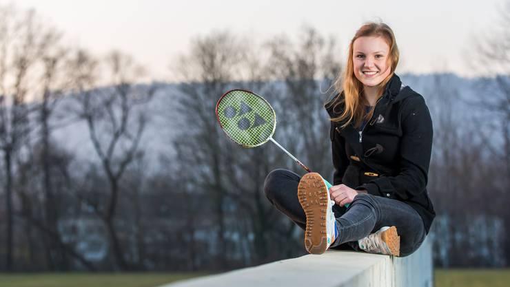 Ronja Stern aus Remetschwil: Die Schweizer Spitzenspielerin misst sich regelmässig mit der Weltklasse.
