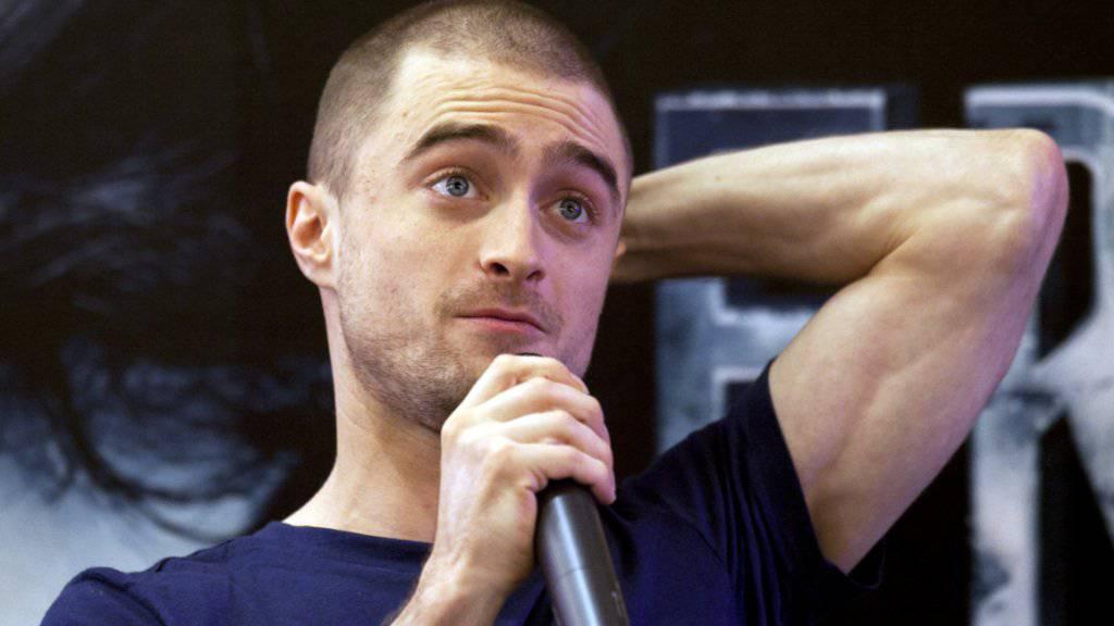 Daniel Radcliffe weiss, nur wenige Schauspieler verdienen so gut wie er als Harry Potter - auch er wird nie wieder so gut bezahlt werden (Archiv).