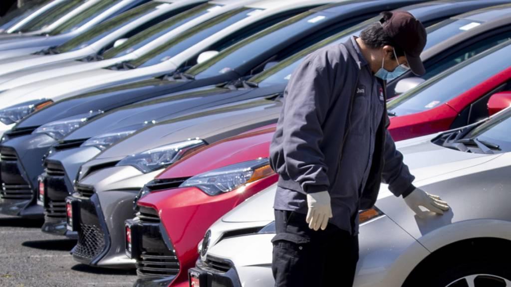 Corona-Pandemie lässt Toyotas Produktion im Mai einbrechen