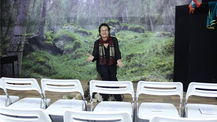 Iris Minder ist happy: Sie hat mit dem «Gänggi» ihr eigenes Kleintheater eröffnen können.