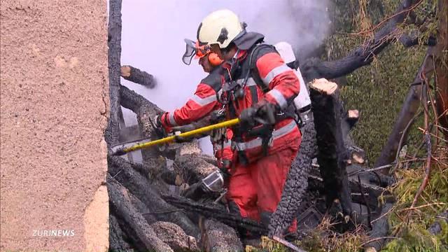 Zwei Brände in Otelfingen: Ist ein Feuerteufel am Werk?