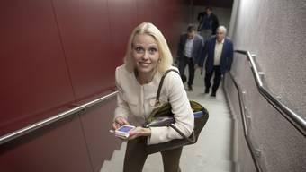 Lilian Studer tritt nach mehr als 17 Jahren aus dem Grossen Rat zurück.