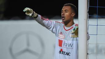 Joël  Kiassumbua ist nicht nur Torhüter in Wohlen, sondern auch bei der kongolesischen Nationalmannschaft.