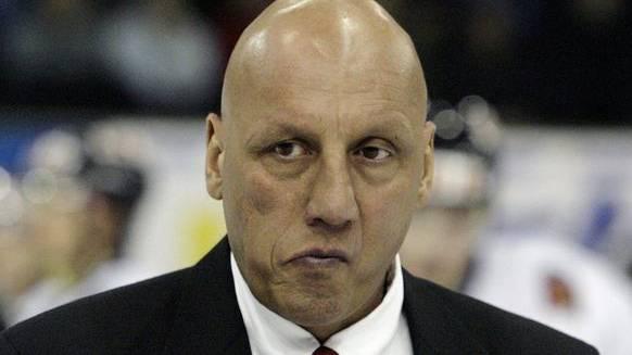 Koleff 2006, als er am Spengler Cup das Team Canada coachte.