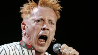 Vor Auftritten in China: John Lydon alias Johnny Rotten (Archiv, 2008)