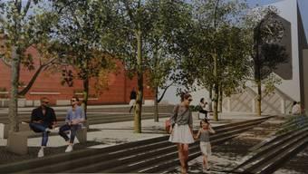 Der Dorfplatz von Oberengstringen soll neu gestaltet werden. Studenten der Fachhochschule Rapperswil legen Ideen vor.