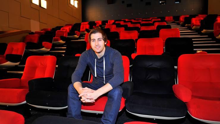 Für Angel Rodriguez, den neuen Betreiber des Kinos Palace, ist Film das Salz in der Suppe und seine grosse Leidenschaft.
