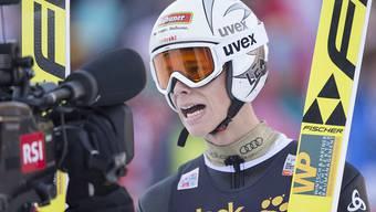 Luca Egloff wird in Engelberg Vierter