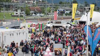 Volksfest zur Eröffnung des Gotthard-Basistunnels