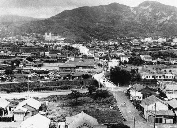 Nagasaki im Jahr 1960 (Archiv)