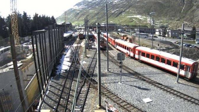 Bei einem Rangierunfall ist es in Andermatt zu einem Zugunfall gekommen, 30 Personen wurden verletzt.