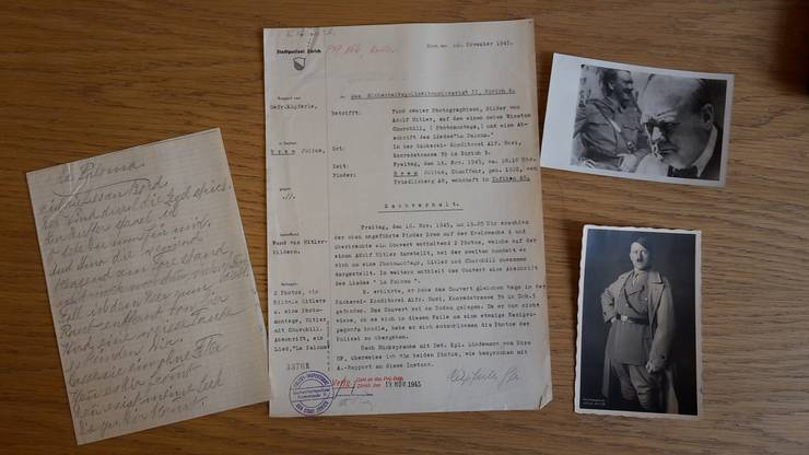 Nazipropaganda? Hitler, Churchill und der handschrift-liche Liedtext von «La Paloma».