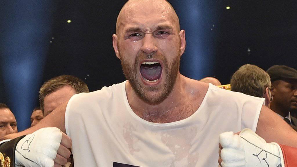 Will gegen Anthony Joshua kämpfen und spuckt grosse Töne: Tyson Fury