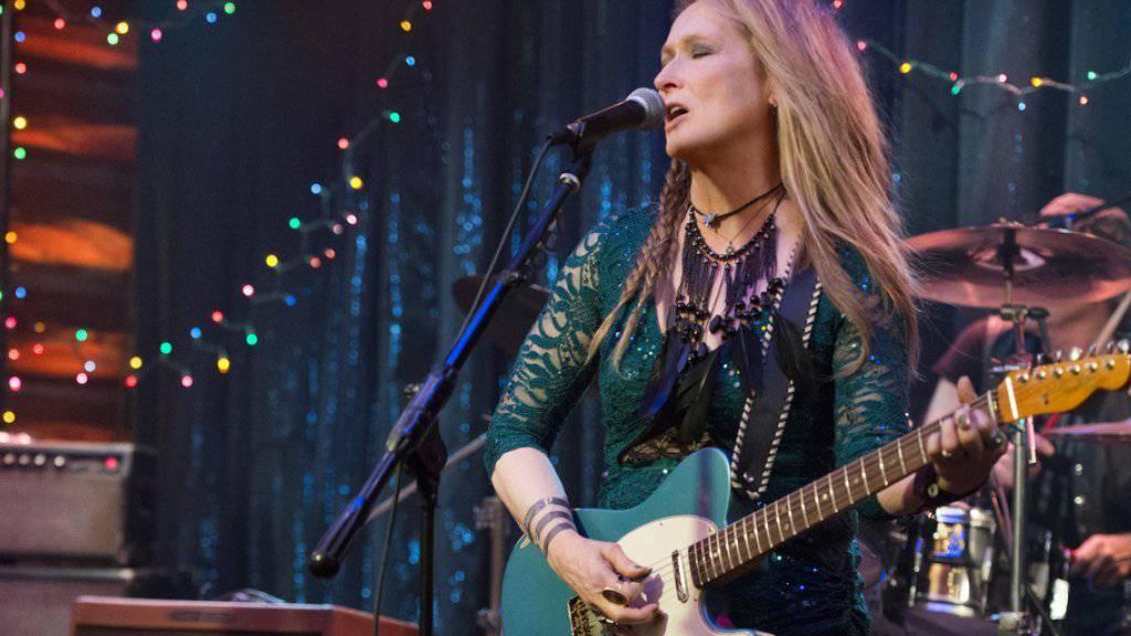 """Meryl Streep spielt im Film """"Ricki and the Flash"""" eine alternde Rockmusikerin (Archiv)"""