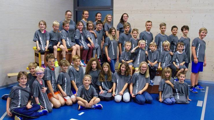 Die Kinder der JO danken allen Sponsoren für das neue T-Shirt!