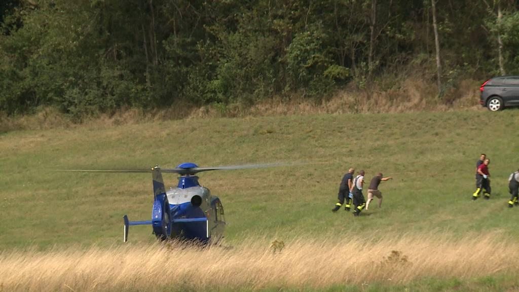 Stein am Rhein: Gleitschirmpilot am Boden liegend aufgefunden