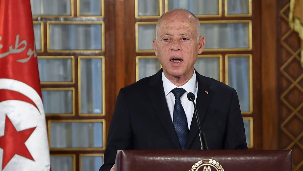 Kais Saied, Präsident von Tunesien.