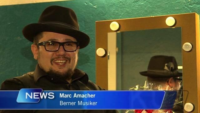 Marc Amacher wieder auf der Bühne