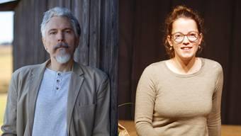 Rolf Lappert und Rebekka Salm.
