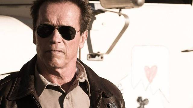"""Arnold Schwarzenegger in seinem neuen Streifen """"The Last Stand"""""""